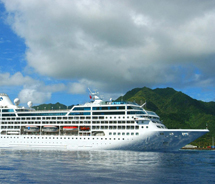 Pacific Princess heads to the South Pacific in 2014. // © 2013 Princess Cruises