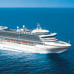 The Sapphire Princess will sail a full season in Singapore. // © 2013 Princess Cruises
