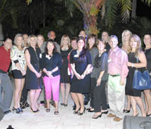 TAG Your T.A.G. contest winners with Vicki Freed // ©2012 Royal Caribbean