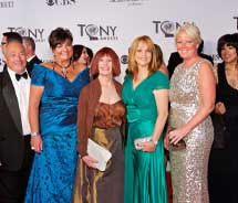 Cruise Editor Marilyn Green attends the Tony Awards with Royal Caribbean. // © 2012 Royal Caribbean