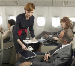 Air France business class seat // (c) 2008