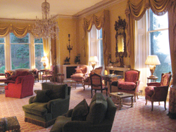 Interior of Inverlochy Castle // (c) Maryann Hammers