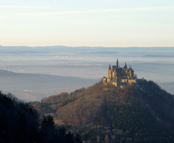 Berg Hohenzollern was home to Germany's royal Hohenzollern family. // (c) Berg Hohenzollern