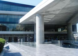 The New Acropolis Museum. // (C) 2010 Throughnothing