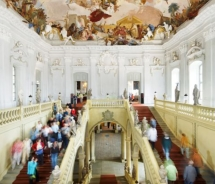 The entry hall of the Wurzburg Residenz palace // © 2010 CTW