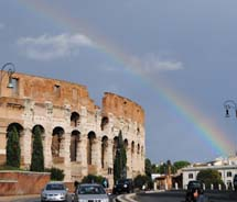 Rome's Coliseum // © 2010 Janeen Christoff