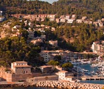 The 120-room Jumeirah Port Soller is set on the cliffs above Port Soller in Mallorca, Spain. // © 2012 Jumeirah Port Soller
