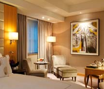 A guestroom at the new InterContinental London Westminster // (c) 2013 InterContinental Hotel Group