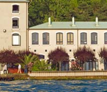 The 24-room Sumahan on the Water overlooks the Bosphorus. // © 2012 George Mucalov