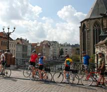 Clients can bike through Belgium and taste the country's Trappist beers with Jeff Lebesch, the founder of New Belgium Brewing.  // © 2011...
