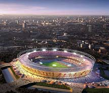 The Olympic Park in East London is the hub for the London 2012 Olympic and Paralympic Games. // © 2012 VisitBritain