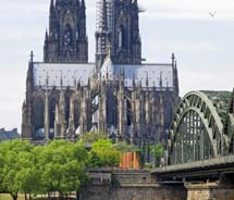 The Cologne Cathedral served as the venue for the 2011 Germany Travel Mart opening gala.  // © 2011 Janice Mucalov