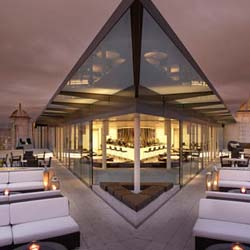 The ME London-Radio Rooftop Terrace // © 2013 Melia Hotels International