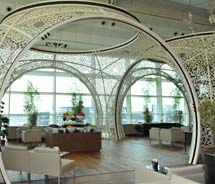The Turkish Airlines CIP Business Lounge in Istanbul // © 2012 Turkish Airlines