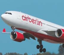 Airberlin will increase its airlift this spring.// © Airberlin
