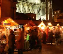 This year marks the 10th anniversary of the Bath Christmas Market. // © 2010 Bath Tourism Plus