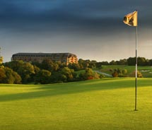Golf is the main attraction at The Celtic Manor Resort, which hosted this year's Ryder Cup. // © 2010 The Celtic Manor Resort