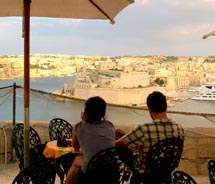 The entrance to Valletta, Malta's Grand Harbour  // © 2011 Yvonne Horn