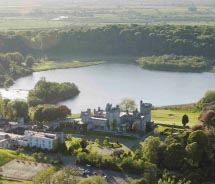 Dromoland Castle offers five-star amenities.// © 2012 Dromoland Castle