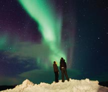 With 25 percent of its land mass above the Arctic Circle, Norway is an excellent location for seeing the northern lights.  // © 2012 Terje...