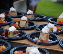 The Taste of Kapolei event offers all-you-can-eat samplings prepared by some of Oahu's top chefs and restaurateurs. // © 2010 Skye Mayring