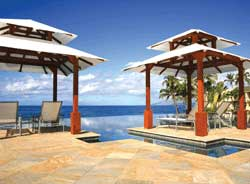 The Serenity Pool, with its saline-filtered water, was a major focus of the renovation // (c) Marriott Hawaii