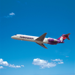 Hawaiian Airlines selected a new gateway city this year. // (c) Hawaiian Airlines