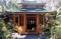 The Bamboo Guest House at Volcano Rainforest Retreat is just one option on the east side of the Big Island. // (c) 2008