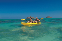 Agents should urge clients to look beyond the hotel pool. // (c) Kailua Sailboards and Kayaks