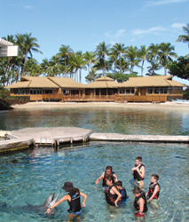 The new Dolphin Quest Village at Hilton Waikoloa Village is now LEED-certified. // (c) Dolphin Quest