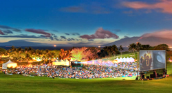 The Maui Film Festival attracts a large crowd. // (c) Randy Jay Braun/Maui Film Festival