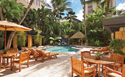 Aqua Hotels and Resorts launched an Obamarama package to honor the new president. // (c) Aqua Hotels & Resorts; Wyland Waikiki