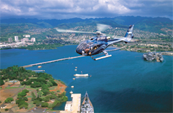 Blue Hawaiian Helicopters recently began operating on Oahu. // (c) Blue Hawaiian Helicopters