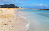 Agents should consider becoming an Oahu Destination Specialist in order to tell their clients about local hot spots such as Ala Moana Beach Park's Magic Island. // © jsc