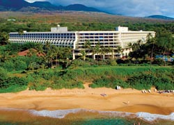 The Makena features an open-air courtyard with ponds. // (C) 2009 Benchmark Hospitality International