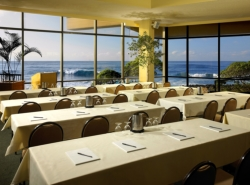 Oceanfront meeting room, Turtle Bay Resort, North Shore Oahu. // (c) Turtle Bay Resort