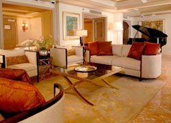 A Grand Suite — with grand piano — at the Grand Wailea // (c) 2010 Grand Wailea