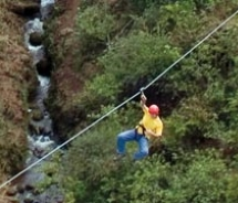 The Kaanapali course consists of eight ziplines. // © 2010 Skyline Eco-Adventures