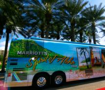The Marriott Bus // (c) 2010 Marriott Hawaii