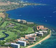 Aerial of Kaanapali Resort, Maui // (c) 2011 Kaanapali Beach Resort Association