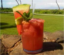 Sweet and Salty Watermelon Mojito // © Westin Kaanapali Ocean Resort Villas