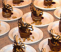 Chocolate is on the menu at the BICF evening gala. // © 2012 Big Island Chocolate Festival