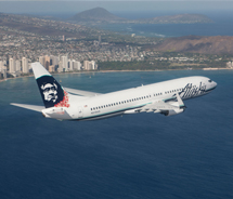 Airlift to Hawaii is increasing. // © 2012 Alaska Airlines