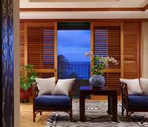 A renovated suite at Grand Hyatt Kauai Resort and Spa // © 2011 Grand Hyatt Kauai Resort and Spa