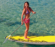 Stand-up paddleboarding lessons and itineraries are cropping up throughout Hawaii. // © 2012 Maui Sports Unlimited