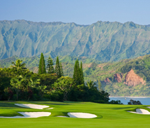 The 18-hole Makai Course has been recently renovated. // © 2012 Makai Golf Club