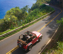 The Hana Highway's road twists and turns hundreds of times, and 54 one-lane bridges add to the drama. // © 2012 Ron Dahlquist MVB
