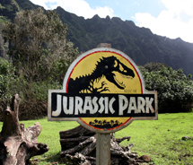 Kualoa Ranch in Oahu is the cinematic backdrop for many films, including Jurassic Park. // (C) 2012 Oahu Visitors Bureau