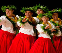 The Moku O Keawe International Hula Festival will take place in early November. // © 2011 Michael Darden