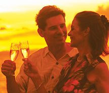 On the Five-Star experience by Star of Honolulu Cruises and Events, guests enjoy a seven-course French dinner and live jazz on the top deck. // (c)...